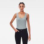 G-Star RAW® Base Round Neck TankTop Grey model front