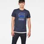 G-Star RAW® Cadulor T-Shirt Dark blue model front