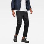 G-Star RAW® Bronson Tuxedo Slim Pants Black model front