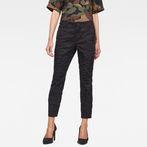 G-Star RAW® Rovic Mid Waist Skinny Pants Black model front