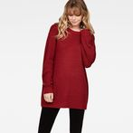 G-Star RAW® Plush Knit Red model front