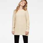 G-Star RAW® Plush Knit Beige model front