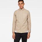 G-Star RAW® Core Button Down Slim Shirt Beige