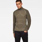 G-Star RAW® Suzaki Pro Turtle Knit Green model front