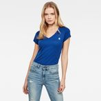 G-Star RAW® Eyben Slim T-Shirt Medium blue model front