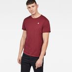 G-Star RAW® Base-S T-Shirt Red model front