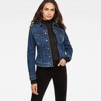 G-Star RAW® 3301 Slim Jacket Dark blue model front