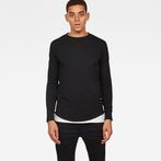 G-Star RAW® Swando Relaxed T-Shirt Black model front