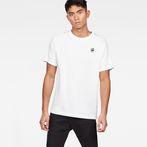 G-Star RAW® Satur New Raglan T-Shirt White model front