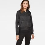 G-Star RAW® Strett Slim Bomber Black model front