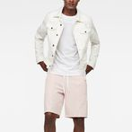 G-Star RAW® Lanc Straight Track Shorts Pink model front