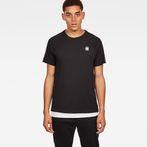G-Star RAW® Satur New Raglan T-Shirt Black model front