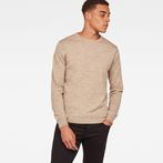 G-Star RAW® Core Knit Beige model front