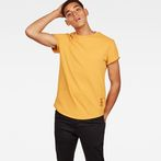 G-Star RAW® Swando New Relaxed T-Shirt Yellow model front