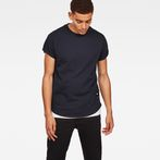 G-Star RAW® Swando New Relaxed T-Shirt Dark blue model front