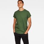 G-Star RAW® Swando New Relaxed T-Shirt Green model front