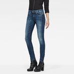 G-Star RAW® D-Staq 5-Pocket Mid-Waist Skinny Jeans Medium blue
