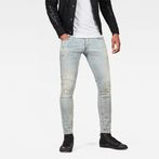 G-Star RAW® 3301 Deconstructed Skinny Jeans Light blue
