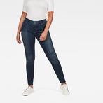 G-Star RAW® 5622 G-Star Shape High Waist Super Skinny Jeans Dark blue