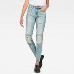 G-Star RAW® Motac Deconstructed 3D High Waist Skinny Jeans Light blue