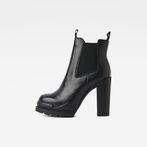 G-Star RAW® Rackam Heel Chelsea Boot Black side view
