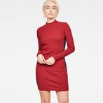 G-Star RAW® Staria Slim Turtle Dress Red