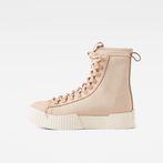 G-Star RAW® Rackam Scuba High Sneakers Pink side view