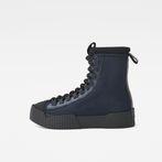 G-Star RAW® Rackam Scuba High Sneakers Dark blue side view