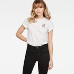 G-Star RAW® Graphic 77 T-Shirt White model front