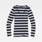 G-Star RAW® Base Round Neck T-Shirt Dark blue model front