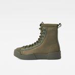 G-Star RAW® Rackam Scuba High Sneakers Green side view