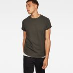 G-Star RAW® Swando New Relaxed T-Shirt Grey model front