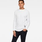 G-Star RAW® Swando Relaxed T-Shirt White model front