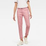 G-Star RAW® Bronson Mid Waist Skinny Chino Pink model front