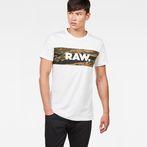 G-Star RAW® Tairi T-Shirt White model front