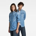 G-Star RAW® 3301 Slim Shirt Medium blue