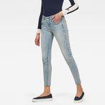 G-Star RAW® Arc 3D Mid Waist Skinny Jeans Light blue