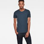 G-Star RAW® Base T-Shirt 2-Pack Medium blue model front