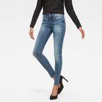G-Star RAW® Lynn D-Mid Waist Super Skinny Jeans