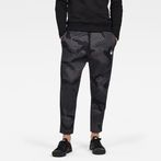 G-Star RAW® Rodis Camo Cropped Sweat Pants Black model front