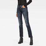 G-Star RAW® 3301 Deconstructed Mid Waist Straight Jeans Dark blue