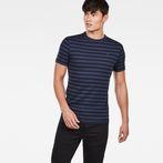 G-Star RAW® Kantano Slim T-Shirt Purple model front