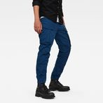 G-Star RAW® Rovic Zip 3D Straight Tapered Trousers Dark blue model front