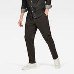 G-Star RAW® Bronson Straight Tapered Chino Grey model front