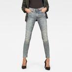 G-Star RAW® 5620 G-Star Elwood Custom Mid Waist Skinny Jeans Medium blue