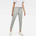G-Star RAW® Bronson Mid Waist Skinny Chino Grey model front