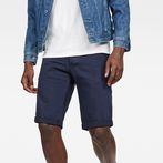 G-Star RAW® 3301 1/2 Shorts Dark blue front flat