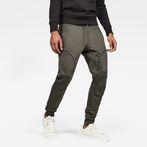 G-Star RAW® Air Defence Zip 3D Slim Sweatpants Grey model front