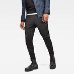 G-Star RAW® Air Defence Zip 3D Slim Sweatpants Black model front