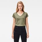 G-Star RAW® Eyben Slim T-Shirt Green model front